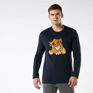 Intimissimi Disney Lion King Simba Pajama Top L